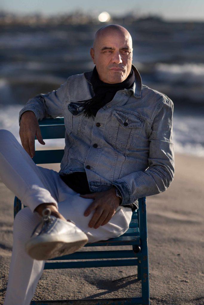Stefan am Strand
