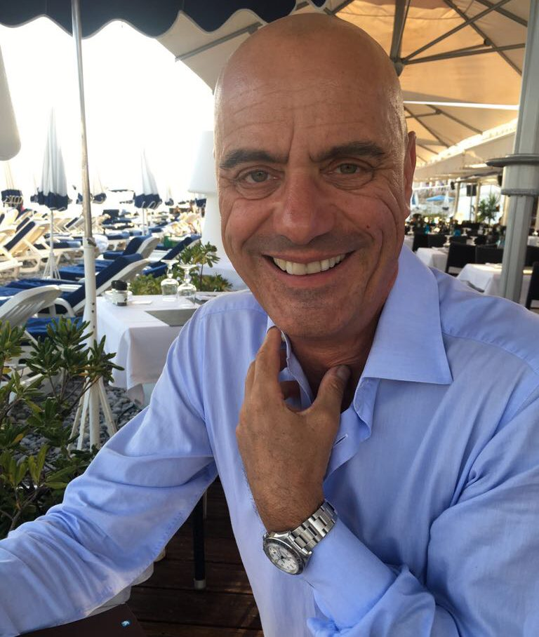 Stefan Wachtel privat im Urlaub